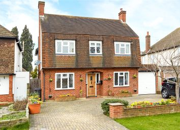 Thumbnail 4 bed detached house for sale in Pine Hill, Epsom, Surrey