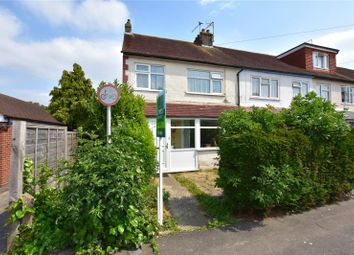 Thumbnail 3 bed end terrace house for sale in Annweir Avenue, Lancing, West Sussex