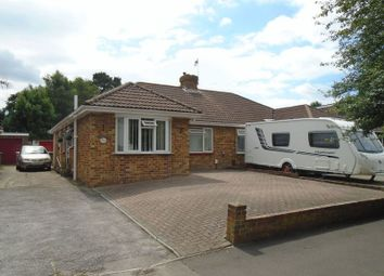 Thumbnail 3 bed semi-detached bungalow for sale in Blackbrook Road, Fareham
