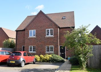 Thumbnail 3 bed semi-detached house for sale in Maida's Way, Aldermaston, Reading