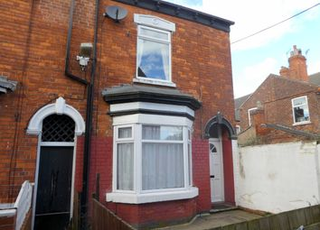 Thumbnail 2 bed end terrace house to rent in Sherburn Street, Hull