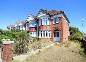Thumbnail 3 bedroom end terrace house for sale in Court Lane, Drayton, Portsmouth