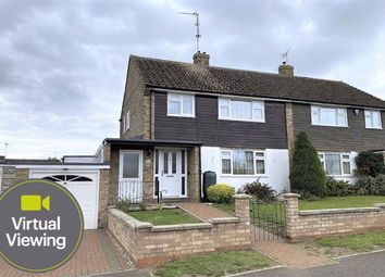 Thumbnail 3 bed semi-detached house for sale in Atterbury Avenue, Leighton Buzzard