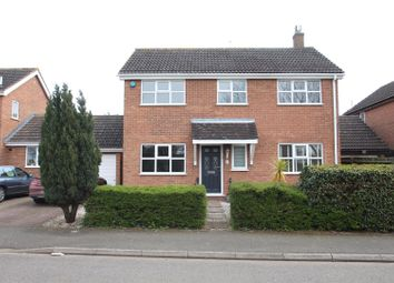 Thumbnail 4 bed detached house for sale in Hadrians Drive, Bancroft, Milton Keynes