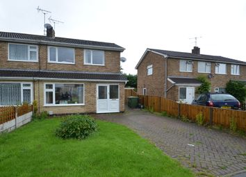 Thumbnail 3 bed semi-detached house to rent in Holyrood Drive, Countesthorpe, Leicester