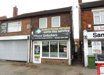 Thumbnail 2 bed flat for sale in Osmaston Road, Allenton, Derby
