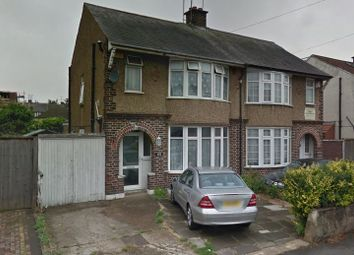Thumbnail 3 bed semi-detached house to rent in St Margarets Avenue, Luton