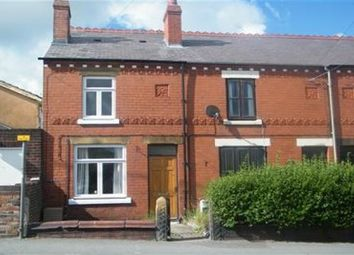 Thumbnail 2 bed end terrace house to rent in Mold Road, Buckley