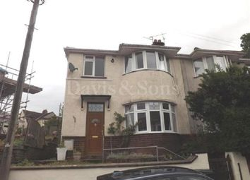 Thumbnail 3 bed semi-detached house to rent in Brynderwen Grove, Newport, Newport.