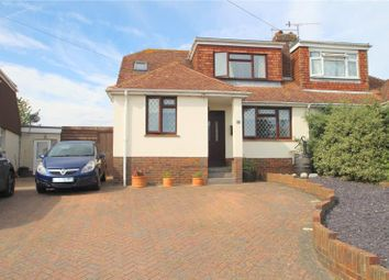 Thumbnail 4 bed semi-detached bungalow for sale in Hawkins Crescent, Shoreham By Sea, West Sussex