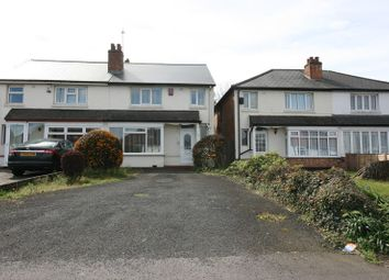 Thumbnail 3 bedroom semi-detached house to rent in Solihull Lane, Hall Green, Birmingham