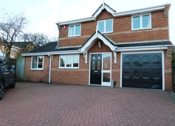 Thumbnail 4 bedroom detached house for sale in Cornfield Road, Biddulph, Stoke-On-Trent