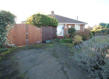Thumbnail 1 bed semi-detached bungalow for sale in Elmstone Road, Gillingham, Kent
