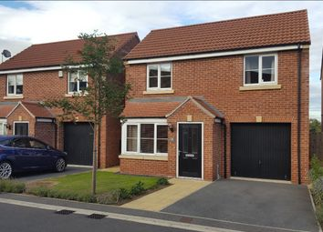 Thumbnail 3 bed detached house for sale in Hardwicke Close, York