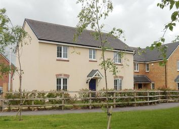 Thumbnail 4 bed detached house for sale in Emily Fields, Birchgrove, Swansea