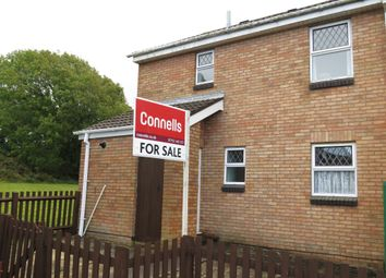 Thumbnail 3 bed end terrace house for sale in Sherril Close, Plymstock, Plymouth