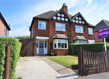 Thumbnail 3 bed semi-detached house for sale in Ashley Road, Keyworth