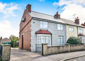 Thumbnail 3 bed semi-detached house for sale in Catherine Avenue, Mansfield Woodhouse, Mansfield, Nottinghamshire