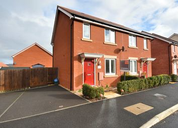 Thumbnail 3 bedroom semi-detached house for sale in Mayfield Way, Cranbrook, Exeter