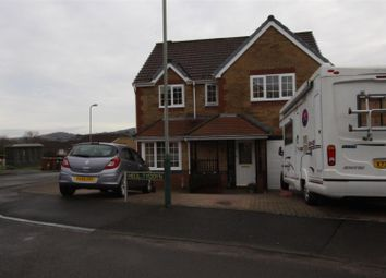 Thumbnail 4 bed detached house for sale in Heol Tyddyn, Caerphilly