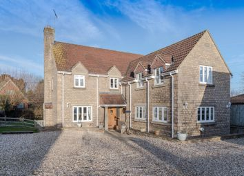 Thumbnail 5 bedroom detached house for sale in Frog Lane, Great Somerford, Chippenham