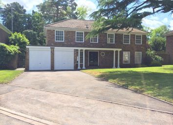 Thumbnail 4 bed detached house to rent in Redcourt, Pyrford, Woking