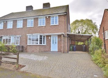 Thumbnail 3 bed semi-detached house for sale in Chestnut Road, Princes Risborough