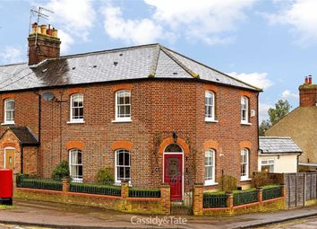 Thumbnail 4 bed end terrace house for sale in Marford Road, Wheathampstead, Hertfordshire