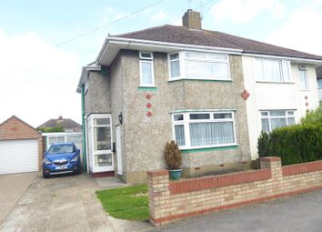 Thumbnail 3 bed semi-detached house for sale in Ridgeway Drive, Dunstable