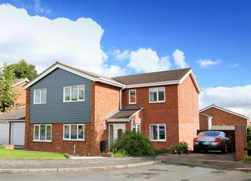 Thumbnail 4 bed detached house for sale in Whistler Road, Eaton Ford, St. Neots