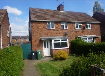 Thumbnail 2 bed semi-detached house for sale in Pease Hill, Alfreton