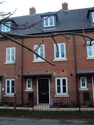 Thumbnail 3 bed terraced house to rent in Coleridge Way, Oakham, Rutland