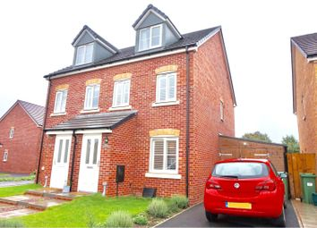 Thumbnail 3 bed semi-detached house for sale in Longstone Avenue, Longford, Gloucester
