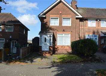 Thumbnail 2 bed end terrace house to rent in Durley Road, Yardley, Birmingham