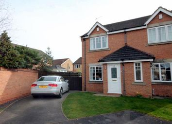 Thumbnail 2 bedroom semi-detached house for sale in Minchin Close, York