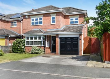Thumbnail 4 bed detached house for sale in Sandford Brook, Hilton, Derby