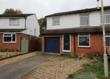 Thumbnail 4 bed semi-detached house to rent in Ramsdell Close, Tadley