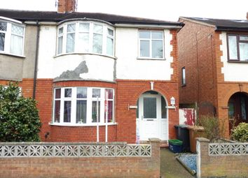 Thumbnail 3 bed semi-detached house for sale in Delapre Crescent Road, Northampton