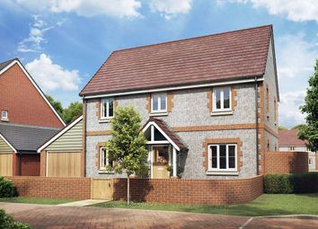 Thumbnail 4 bedroom detached house for sale in The Aster, Owsla Park, Bloswood Lane, Whitchurch, Hampshire