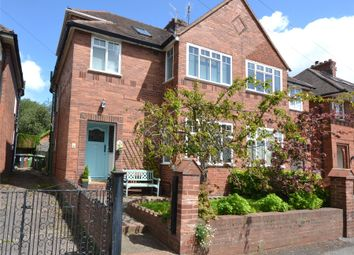 Thumbnail 4 bed semi-detached house for sale in Bagshot Avenue, St. Leonards, Exeter