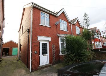 Thumbnail 3 bed semi-detached house for sale in Highfield Avenue, Scunthorpe, Lincolnshire