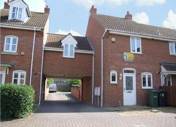 Thumbnail 3 bed end terrace house to rent in Cunningham Road, Woodston, Peterborough