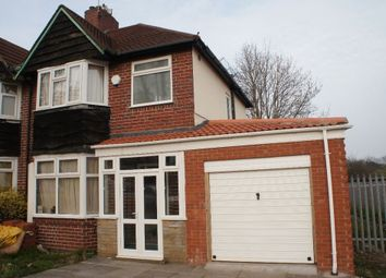 Thumbnail 3 bed semi-detached house to rent in Wolverhampton Road South, Quinton, Birmingham