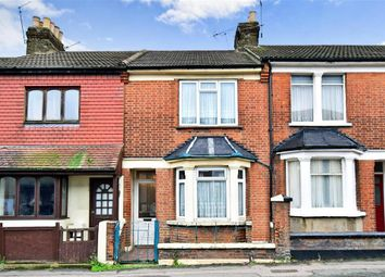 Thumbnail 3 bed terraced house for sale in Canterbury Street, Gillingham, Kent