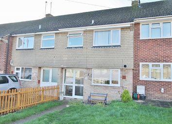 Thumbnail 3 bed terraced house for sale in Hillmead Gardens, Bedhampton, Havant