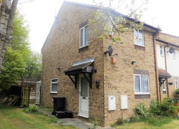Thumbnail 2 bedroom end terrace house for sale in Boundary Close, Willowbrook, Swindon