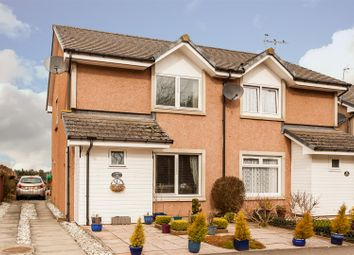 Thumbnail 2 bed semi-detached house for sale in Main Road, Aberuthven, Auchterarder