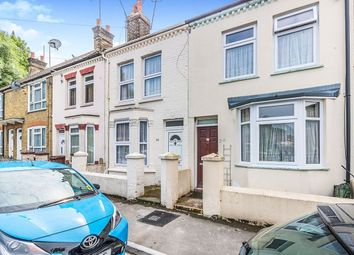 Thumbnail 4 bed terraced house to rent in Cornwall Road, Gillingham