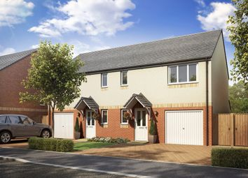 "Thumbnail 3 bedroom semi-detached house for sale in ""The Newton"" at Lanton Road, Falkirk"