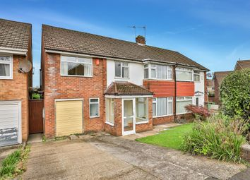 Thumbnail 5 bed semi-detached house for sale in Gwynant Crescent, Lakeside, Cardiff